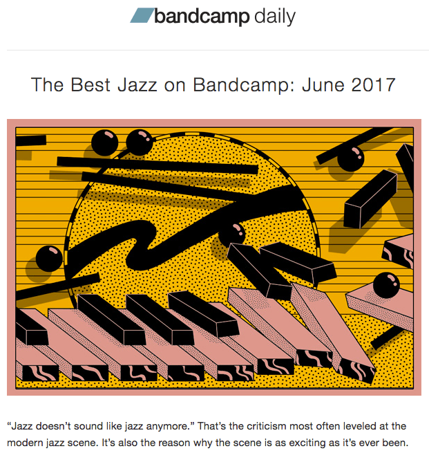 """Now up: June's """"Best of Bandcamp Jazz"""" recommendations"""