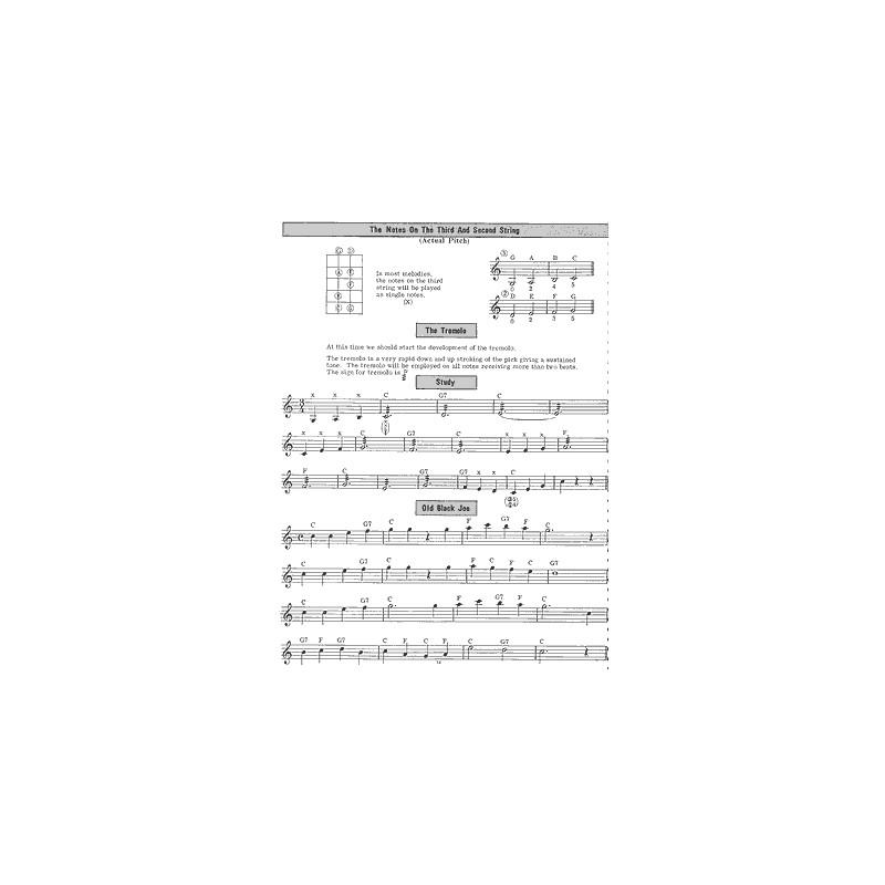 metodo banjo tenore, studio banjo tenore