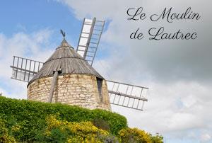 Le moulin de la Salette à Lautrec