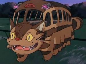 neko bus - totoro
