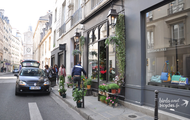 Paris quartier le Marais