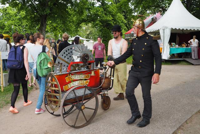Les steampunks aux Imaginales d'Epinal!