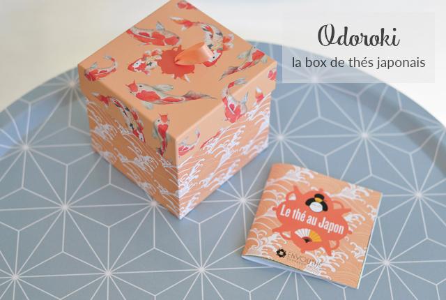 Odoroki: la box de thé sur le Japon d'envouthé