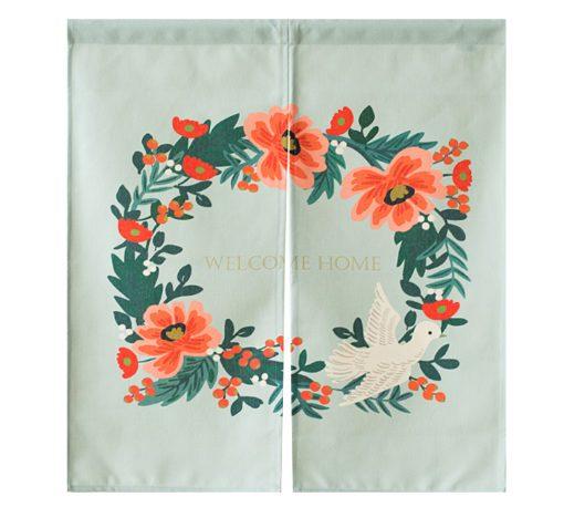 Ma sélection de rideaux de porte en tissu