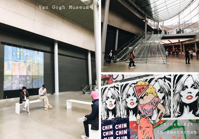 Art in Amsterdam: Le Van Gogh Museum et du street art!