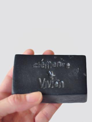 Le savon l'Emir détoxifiant de Clémence & Vivien - J'adopte des cosmétiques solides