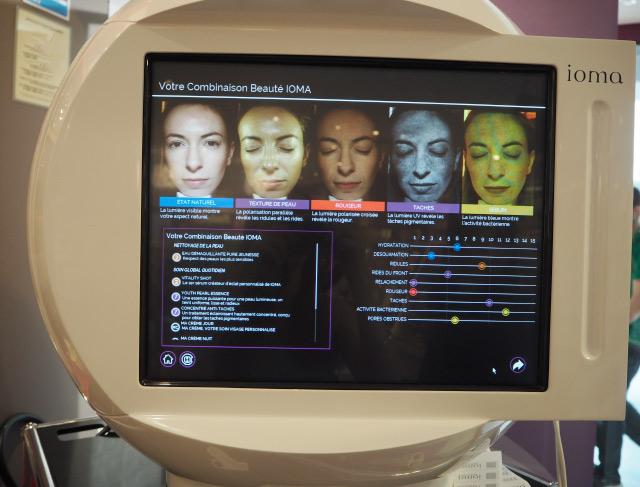 J'ai testé le diagnostic de peau de Ioma chez Marionnaud