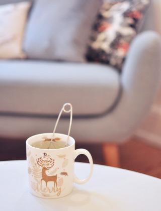 tasse de thé - home sweet home