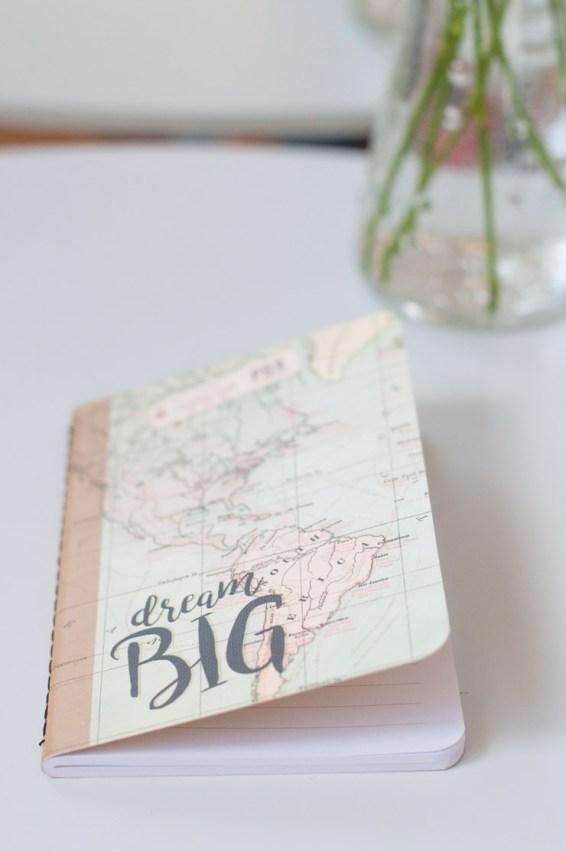 Joli carnet de voyage - Papeterie sur le blog Birds & Bicycles