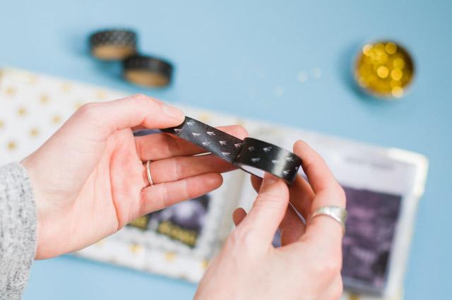 Matériel pour scrapbooker mon album: mes masking tapes!