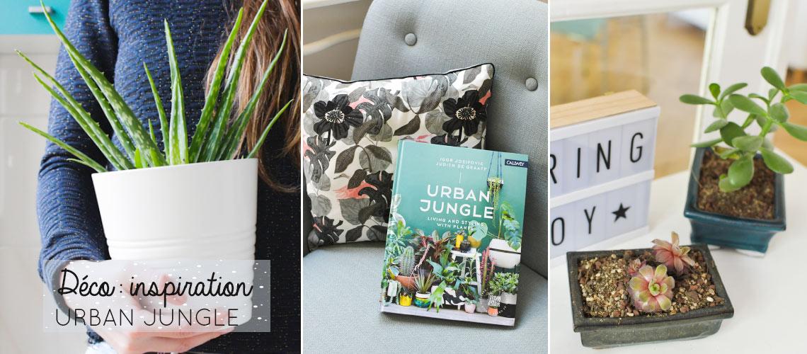 """Coup de coeur: livre inspirant sur la tendance""""Urban Jungle""""!"""