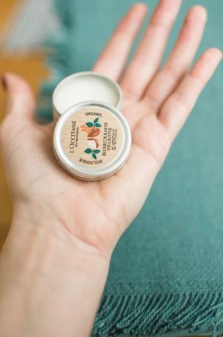 Favori: le baume à lèvres au beurre de karité pur de L'Occitane