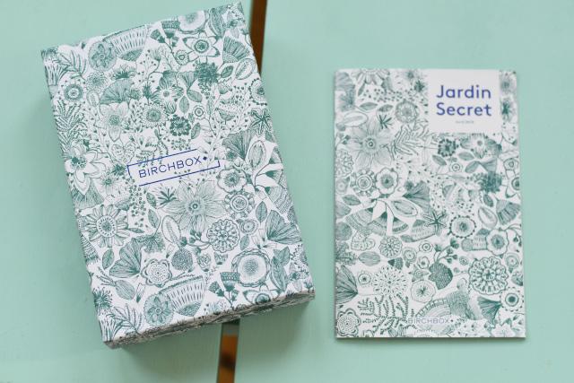 Jardin Secret - la box d'avril de Birchbox - Déballage et avis sur le blog lifestyle Birds & Bicycles