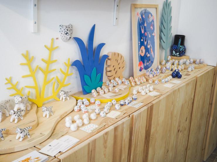 La ménagerie de Dodo Toucan, créatrice de petits animaux en céramique peinte