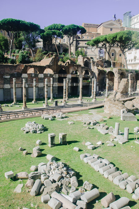 Le Forum Romain: que voir à Rome en un week-end