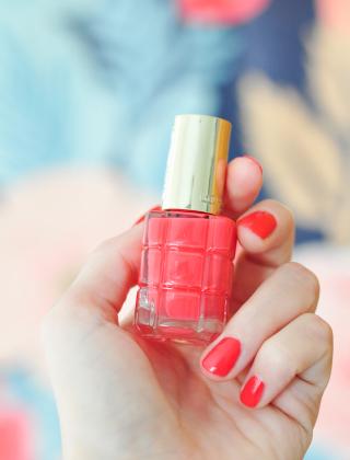 Vernis à l'huile de L'Oréal: favoris sur le blog!