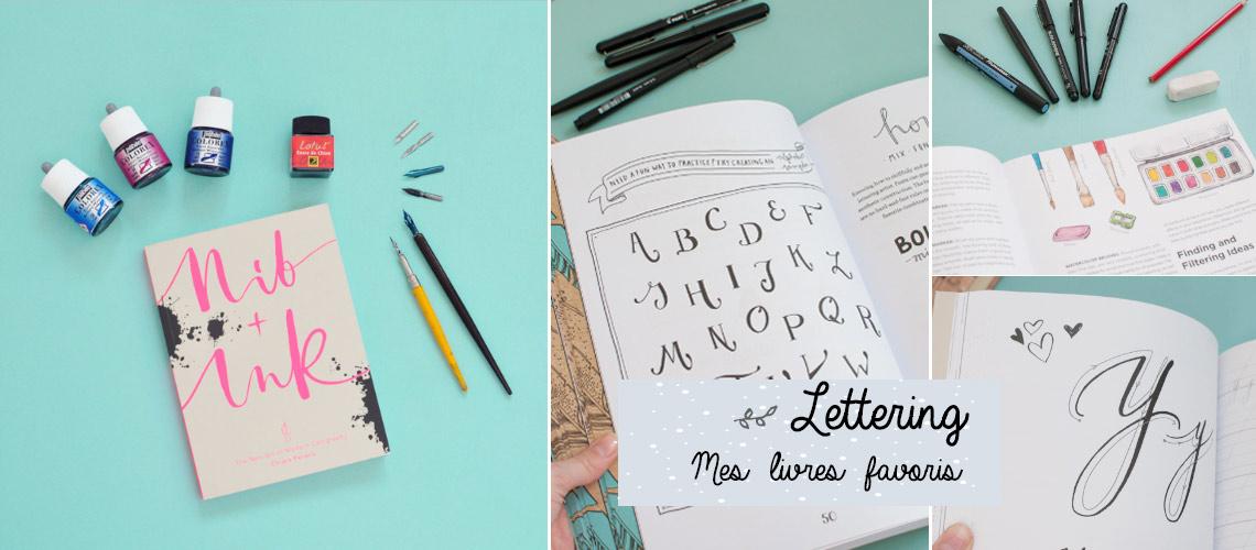 Livres de lettering: mes favoris