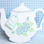 vintage teapot card