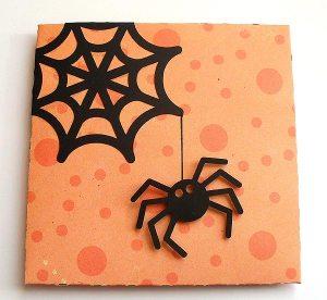 halloween petal card 1