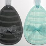 stripey egg tags