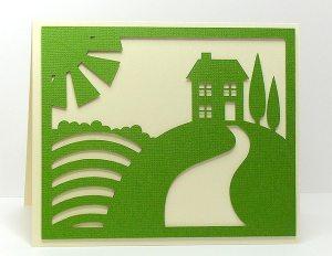 house scene 2 card