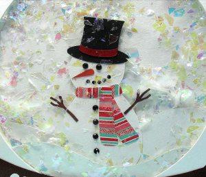 snowglobe snowman 2