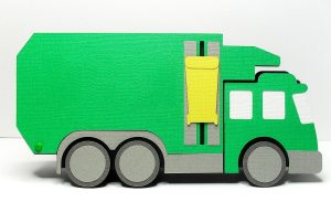 Rubbish Truck 1