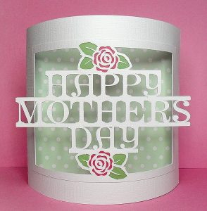 mothers day bendy card