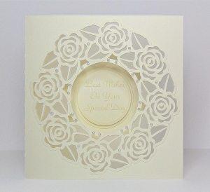 rose frame card 1