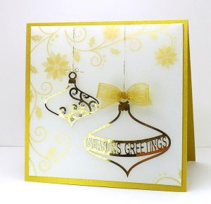 Baubles 3 card