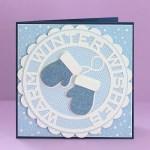 Mitten Circle Card