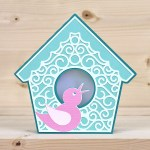 Bird House Card