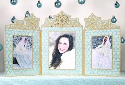 snowflake-photo-frame-triptych