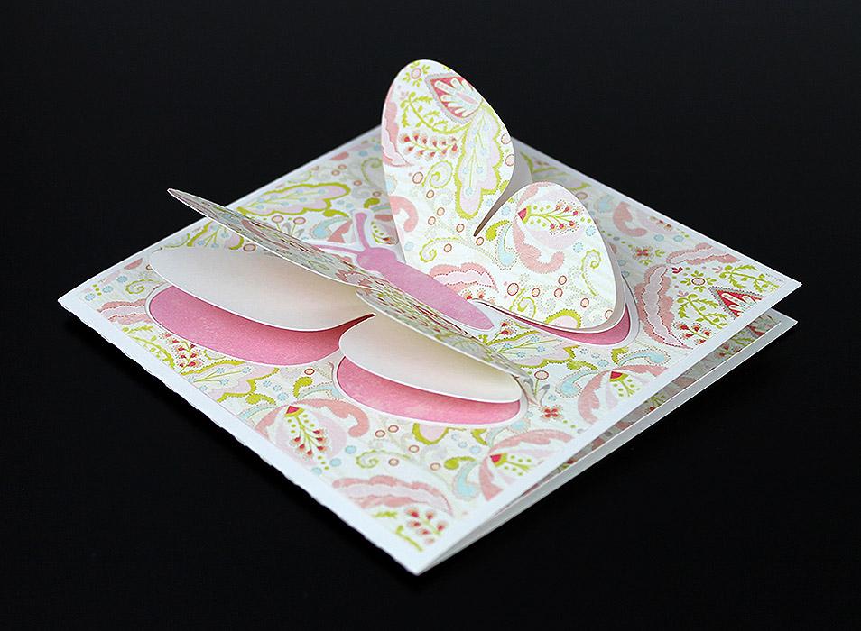 Butterfly Pop Up Wing Card Freebie