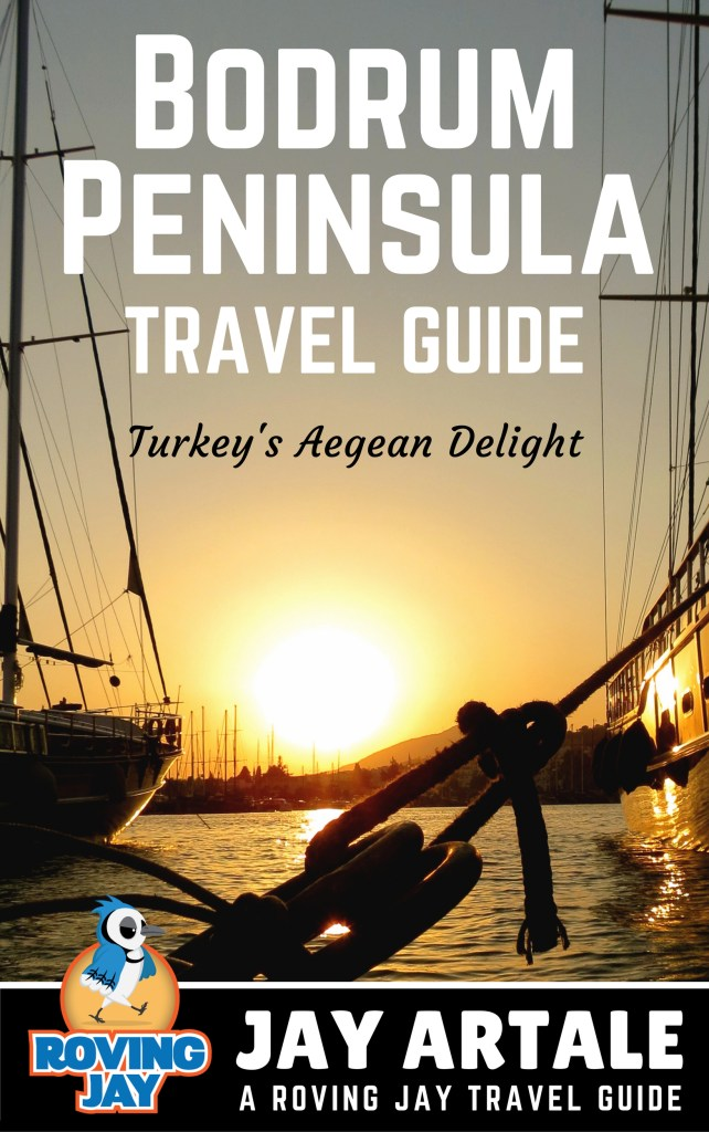 Travel Book Cover : Updated version of my bodrum peninsula travel guide