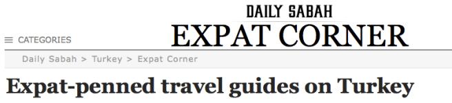 Daily Sabah Newspaper Write up of BodrumPeninsulaTravelGuide