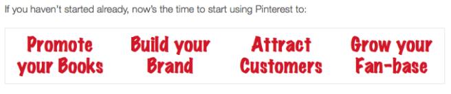 Pinterest for Authors Jay Artale