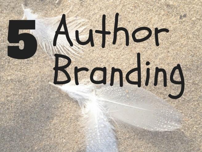 5 author branding