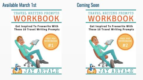Travel writing prompts free pdf workbook