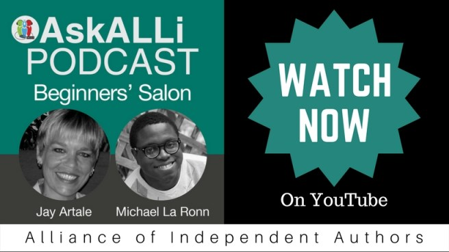 Beginners Self Publishing Salon Watch Now