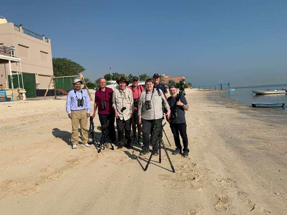 10-18 November 2019 Kuwait Birding Tour Participants: AbdulRahman Al-Sirhan (tour guide), Jim Christensen, Anders Hammergart, Anders Sogaard, Steffen Sommer Nielsen, Paul Nilsson, Richard Beard, and Neil Clayton.