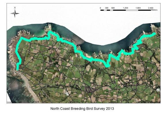 North coast breeding bird survey 2013