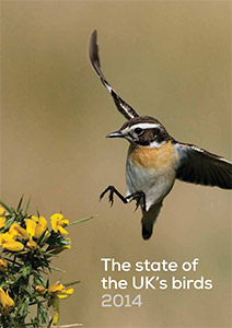 State of UK's Birds 2014. Cover. BTO