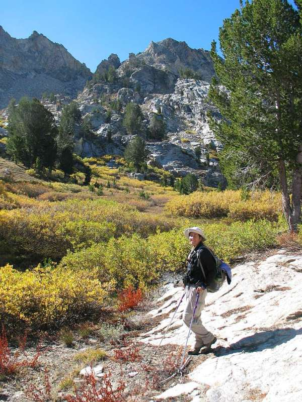 Lynn in the Ruby Mountains