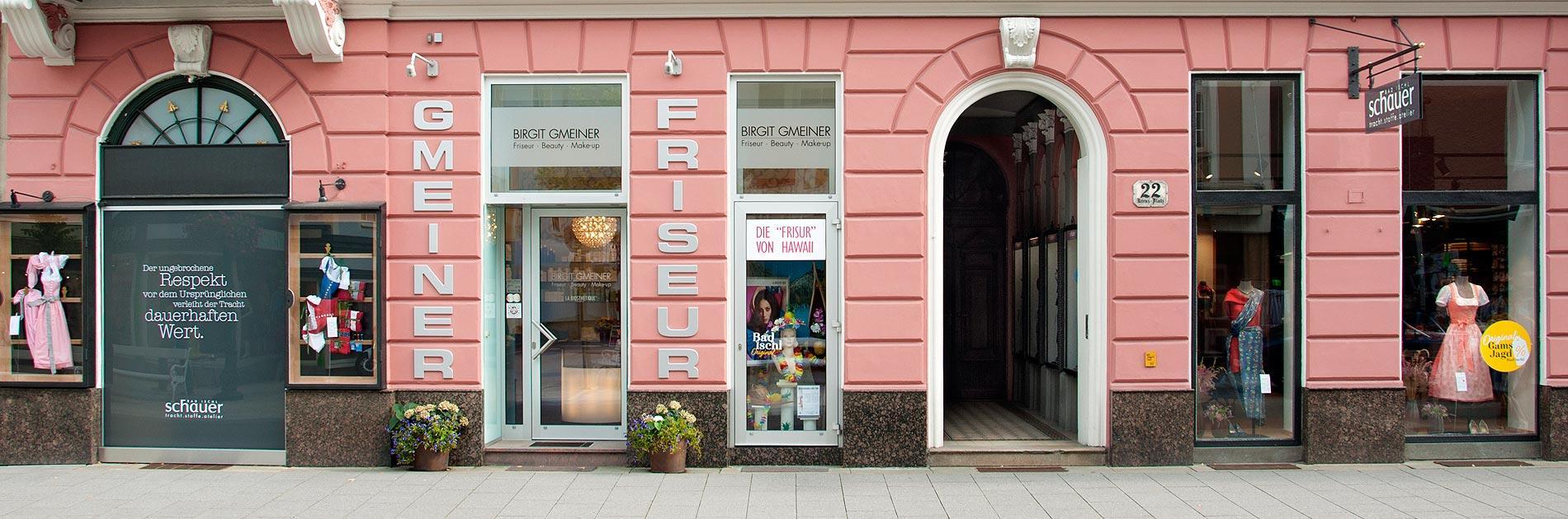 Kontakt Birgit Gmeiner  Friseur  Beauty  Makeup