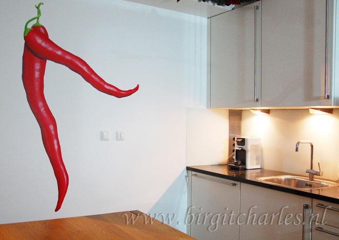 Muurdecoratie Voor Keuken