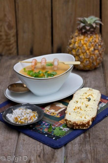 Suppe von der Süßkartoffel