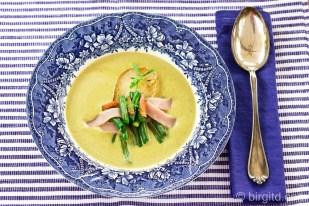 Grüne-Bohnen-Suppe - Birnen, Bohnen & Speck