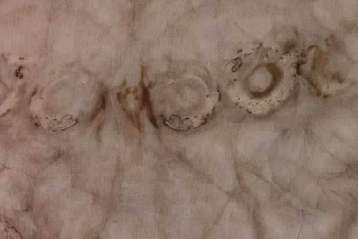solar dyeing by Birgit Moffatt