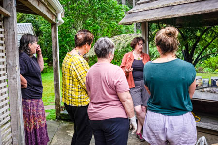 eco dye retreat with Birgit Moffatt